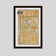 Springfield Massachusetts Map by Springfield Massachusetts Map City Map Street Map 1950s 2