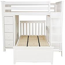 amazon com jackpot deluxe all in one solid hardwood twin size