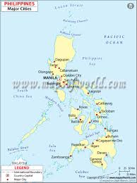 Map Of Phillipines Philippines Cities Map Contries Pinterest City Maps