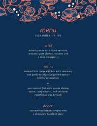 menu design for dinner party customize 391 dinner party menu templates online canva