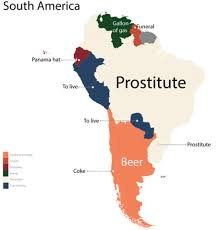 Map Of Mexico And South America by From U0027bmw U0027 In Germany To U0027prostitute U0027 In Brazil This Incredible
