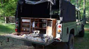 smart compact mobile kitchen design for camping or outdoor party