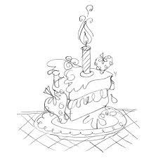 drawn cake pencil sketch pencil and in color drawn cake pencil