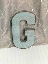 metal letters wall decor wall metal letter galvanized large metal letter g metal letter galvanized metal wall letter