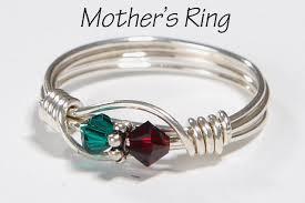 children s birthstone rings for mothers children s birthstone rings 2 mothers birthstone ring