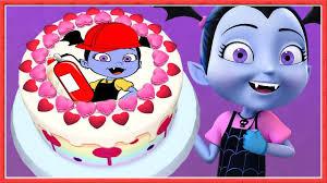 vampirina disney junior birthday cake baby cook fireman doctor