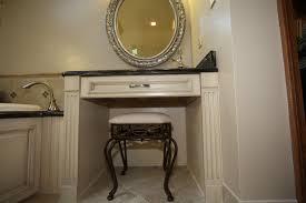 Contemporary Makeup Vanity Makeup Vanity In Bathroom Good 20 Bathroom Capitangeneral