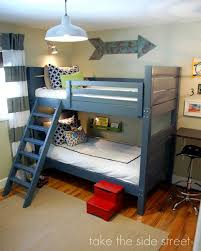 How To Make A Loft Bed With Desk Underneath by 7 Free Bunk Bed Plans You Can Diy This Weekend
