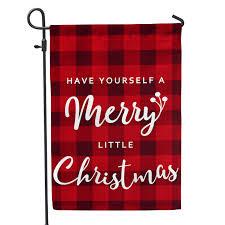 Yard Flags Wholesale Merry Little Christmas Home U0026 Garden Flag U2013 Second East Llc