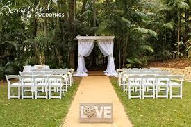 wedding arches gold coast gold coast hinterland weddings beautiful weddings