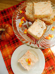 frugal foodie mama frosted candy corn oreo cookie bars