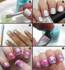 nice simple nail art ideas at home step by step simple nail art