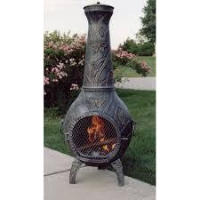 Mexican Outdoor Fireplace Chiminea Chimineas You U0027ll Love Wayfair