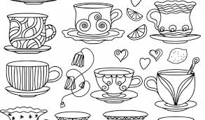 get this food coloring pages coffee and tea 95nv7