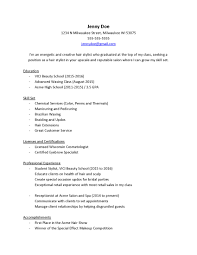Resume Examples For Cosmetologist What Should Cosmetologists Put On Their Resumes Vici Beauty