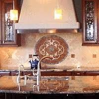 backsplash medallions kitchen lovely metal medallion backsplash tile floor kitchen