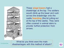 siege tower definition why were motte and bailey castles important ppt