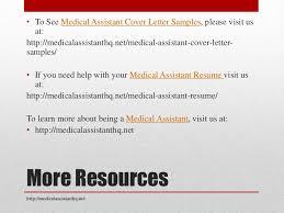 medical assistant cover letter