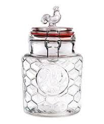 basic white 4 canister set lids seals box kitchen storage over