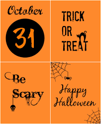 printable halloween sheets black and orange halloween printables organize and decorate