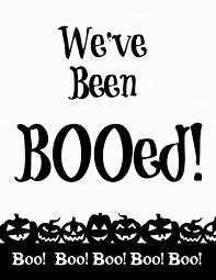 you u0027ve been booed free printables halloween ideas pinterest
