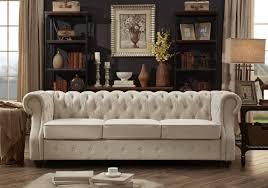 Chesterfield Sofa Mulhouse Furniture Tufted Chesterfield Sofa Reviews Wayfair