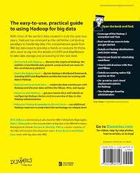 hadoop definitive guide pdf hadoop for dummies for dummies computers amazon co uk dirk