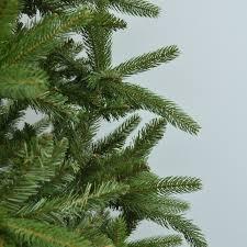 7 5 feel real fraser slim fir hinged artificial tree unlit msrp