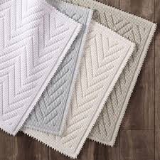 Colorful Bathroom Rugs Colors Textured Chevron Bath Rug