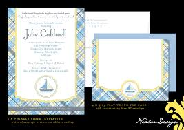nealon design nautical baby shower invitation