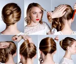 model sanggul rambut pendek tutorial rambut pramugari untuk til cantik di acara wisuda
