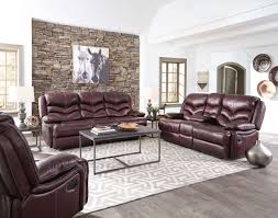 Leather Reclining Sofa And Loveseat Denali Leather Reclining Sofa And Loveseat By Standard Furniture