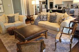 Family Room Chairs And Ottomans Family Room Eclectic Family Room - Leather family room furniture