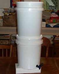 Berkey Water Filter Stand by Homemade Berkey Water Filter Survival Spot