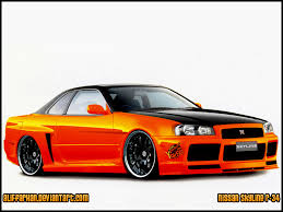 nissan orange nissan skyline orange by aliffarhan on deviantart