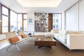 Remodelled Rooftop Apartment In New York Idesignarch Gorgeous - New york living room design