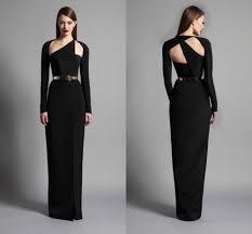 100 long black gown sleeves women u0027s 3 4 sleeve formal