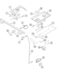 Parts For Jenn Air Cooktop Jenn Air Jds9860aab Slide In Dual Fuel Downdraft Range Timer