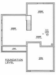 foundation floor plan becker construction inc floor plans