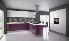 cuisine mur aubergine cuisine aubergine inspirant cuisine blanche mur aubergine photos