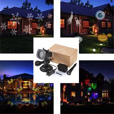 House Christmas Light Projector by Tomshine Christmas Pumpkin Ghost Heart Snowflake Rotating Led