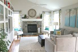 Decoration Comfortable Family Room Decorating Ideas Homestoreky - Family room decorating images