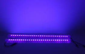genssi led purple light 50cm uv wall washer pack of 2