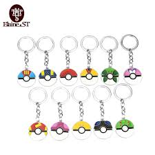 acrylic skeleton ring holder images Japan anime pokemon go keychains 9 styles pokemon go pokeball jpg