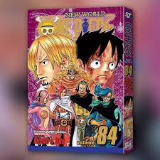 one vol 84 viz media on big news one vol 84 is out now