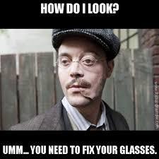 Glasses Meme - custom boardwalk empire meme generator