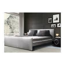 Upholstered Sleigh Bed Lalbay Upholstered Sleigh Bed Silver Lalbay