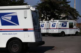 postal vehicles man arrested after carjacking mail truck police say