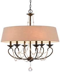 elegant drum chandelier with crystals drum chandelier light
