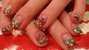 29 christmas acrylic nail designs christmas acrylic nails